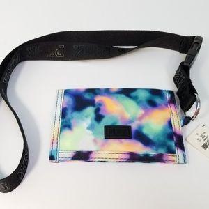 Victoria's Secret PINK Tie Dye Lanyard Wallet